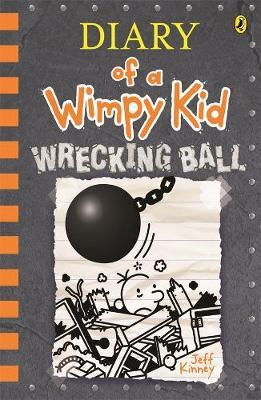 Diary of a Wimpy Kid - Wrecking Ball by Jeff Kinney image