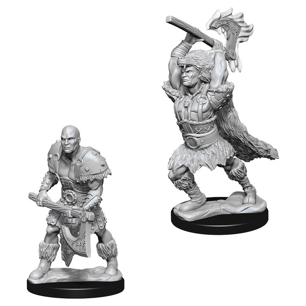 D&D Nolzur's Marvelous: Unpainted Miniatures - Male Goliath Barbarian