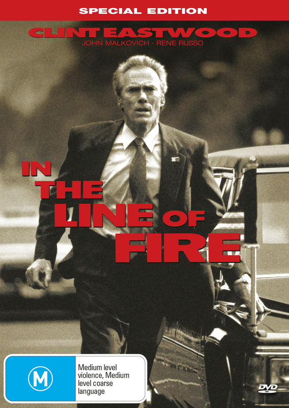 In The Line of Fire on DVD