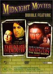 Theatre Of Death / Rasputin: Mad Monk on DVD