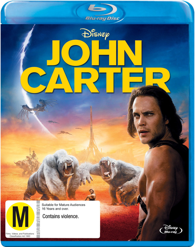 John Carter on Blu-ray