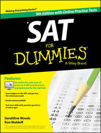 SAT For Dummies, with Online Practice by Geraldine Woods