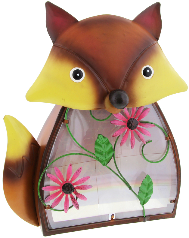 Darlin Solar LED Garden Ornament - Fox