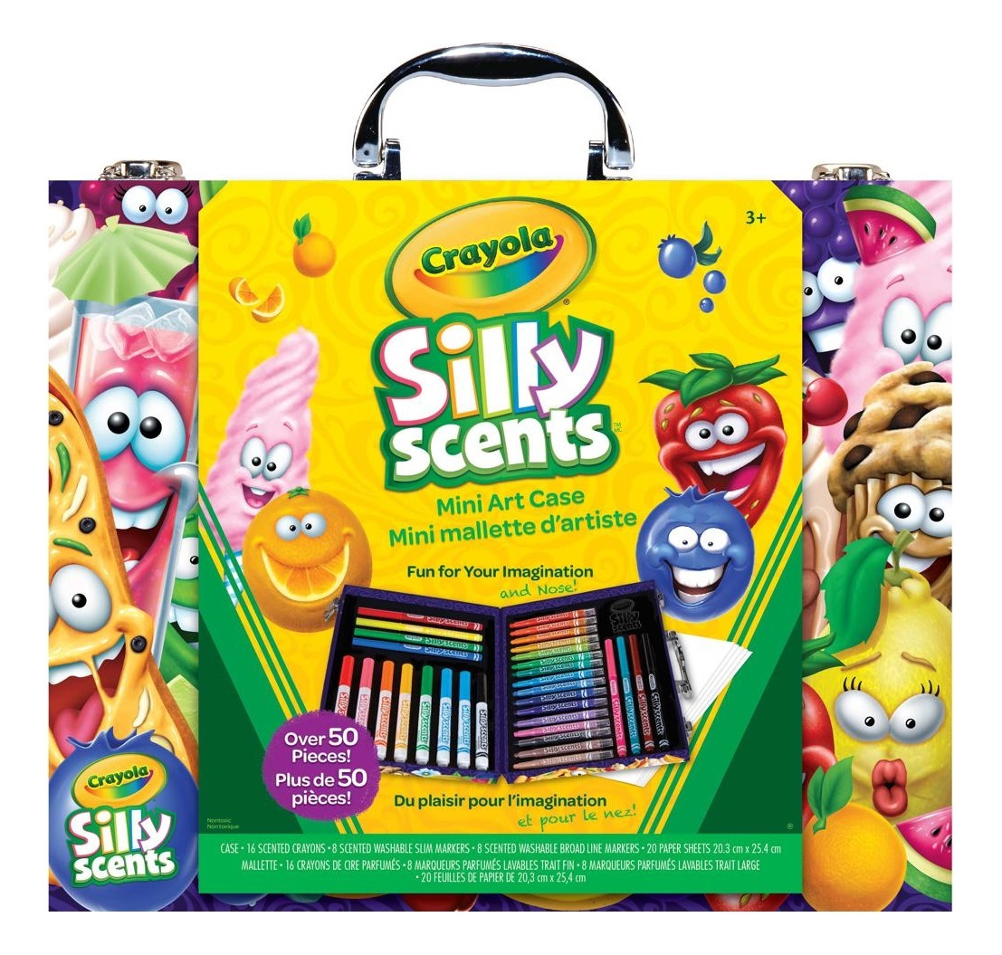 Crayola: Silly Scents - Mini Art Case image