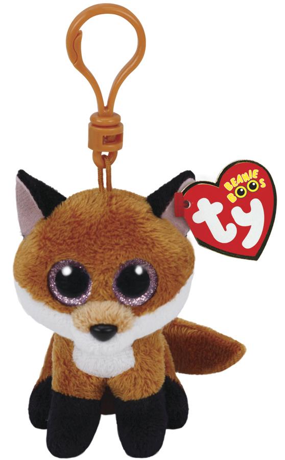 Ty Beanie Boos: Slick Fox - Clip On Plush image