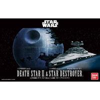 Star Wars: 1/2,700,000 Death Star II & 1/14,500 Star Destroyer - Model Kit
