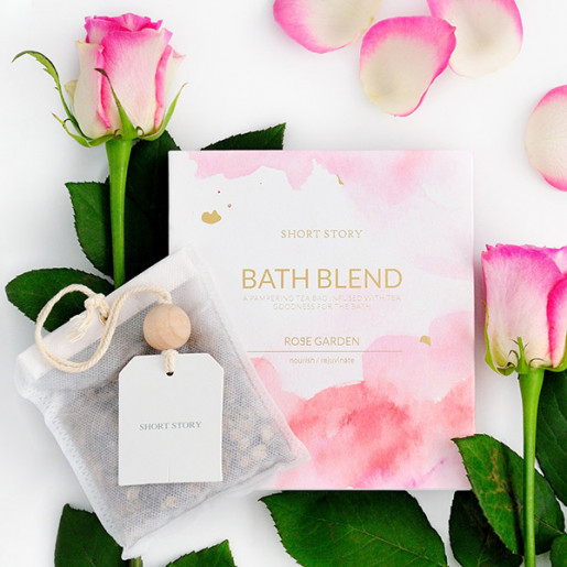 Short Story Bath Blend and Card (Rose) image