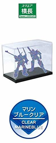 Model Cover UV Protection Horizontally Long Marine Blue Clear