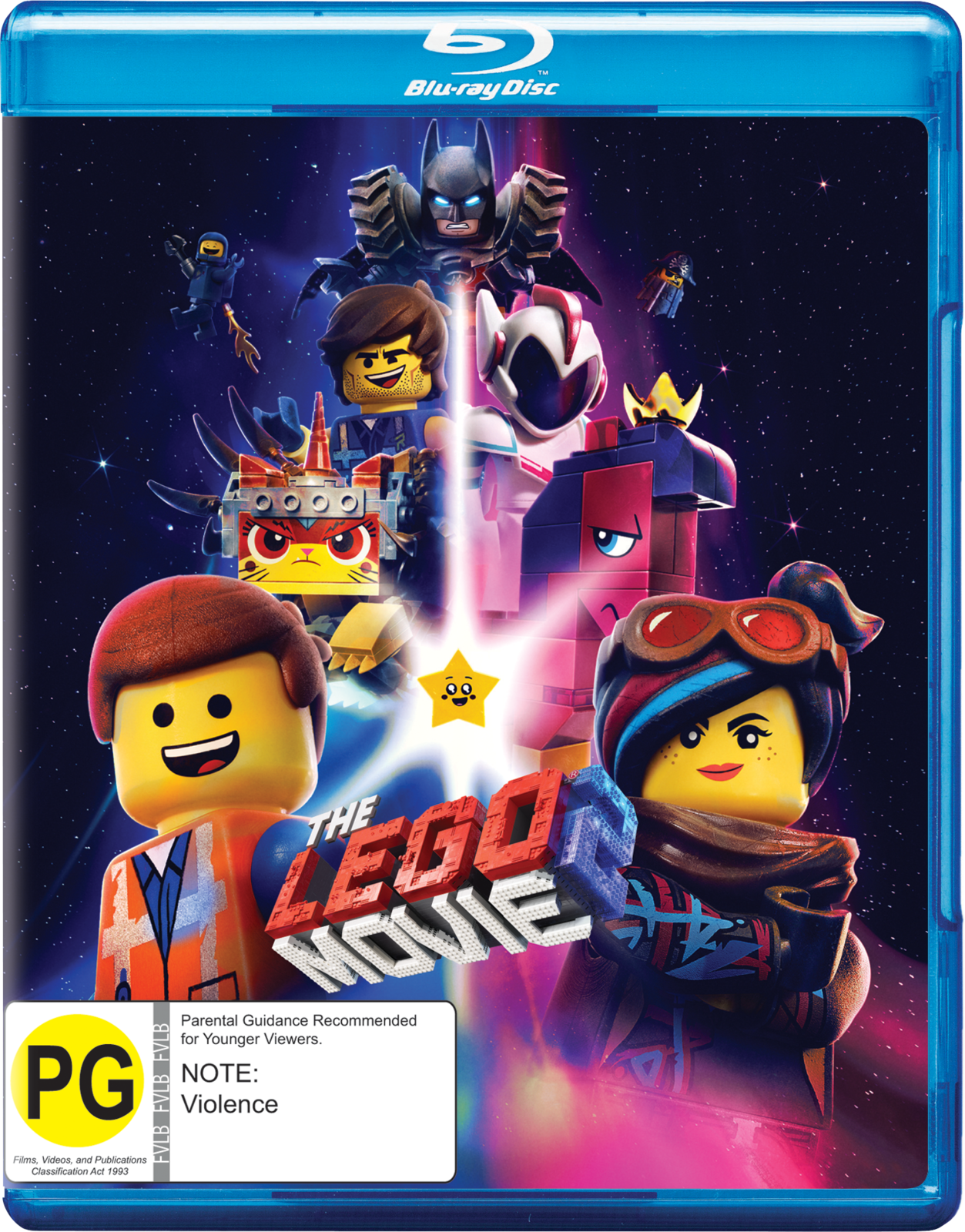 The Lego Movie 2 on Blu-ray image