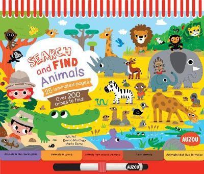 Search and Find Notebooks: Animals by Emma Martinez