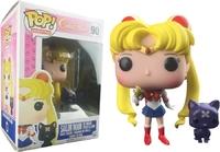 Sailor Moon - Sailor Moon w/ Moon Stick & Luna Pop! Vinyl Figure image