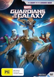 Guardians Of The Galaxy: The Hunt for the Cosmic Seed on DVD