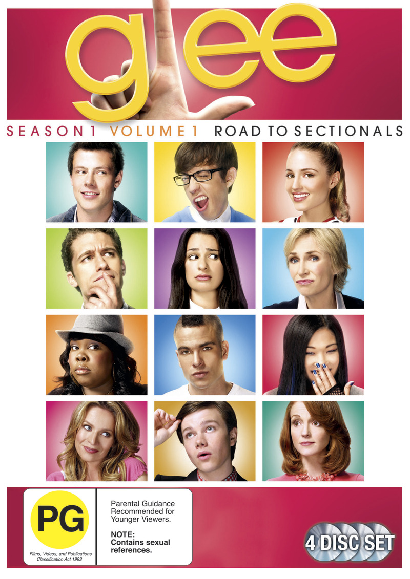 Glee - Season 1. Vol.1 - Road to Sectionals (4 Disc Set) DVD image