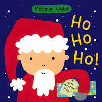 Ho Ho Ho! Board Book by Melanie Walsh