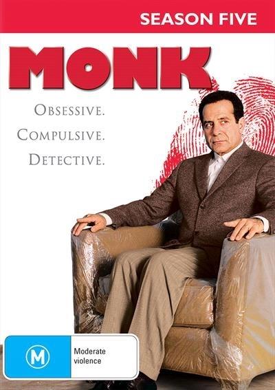 Monk - Season Five on DVD