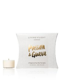 Living Light: Soy Tealights (Passion & Guava)