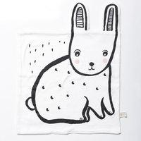 Wee Gallery: Organic Snuggle Blanket - Bunny