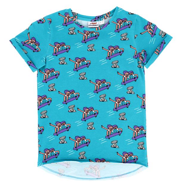 Jelly Alligator: Epic Skaters Short-Sleeve T-Shirt - 8-9Y