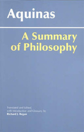A Summary of Philosophy by Thomas Aquinas