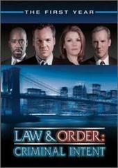 Law & Order - Criminal Intent: Season 1 (6 Disc Box Set) on DVD