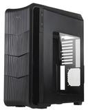 SilverStone Raven RV04B-W ATX Mid Tower Case (Black)