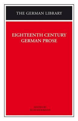 Eighteenth Century German Prose image