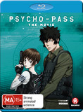 Psycho-Pass The Movie on Blu-ray