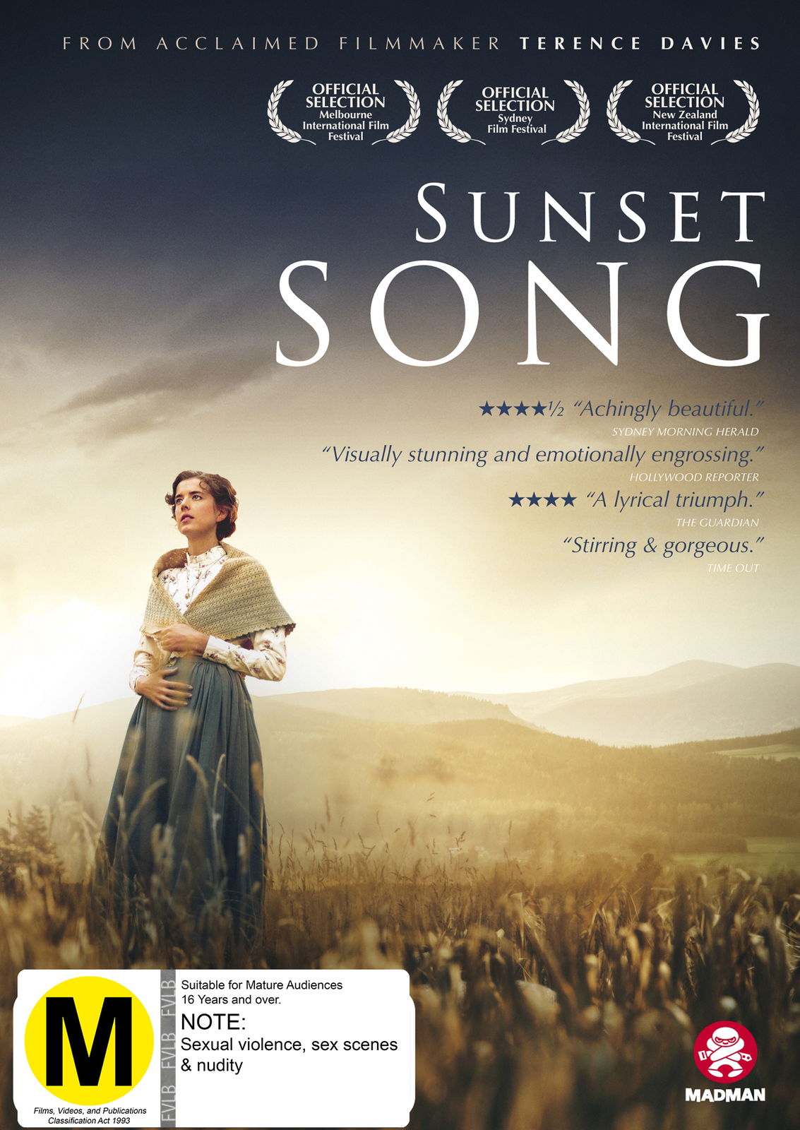 Sunset Song on DVD image