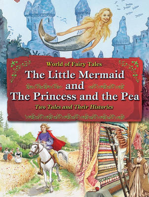 The Little Mermaid and the Princess and the Pea by Carron Brown image