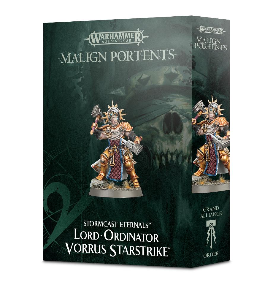 Warhammer Lord-Ordinator Vorrus Starstrike image