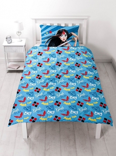 DC Super Hero Single Duvet Set image