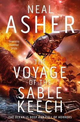 The Voyage of the Sable Keech by Neal Asher image