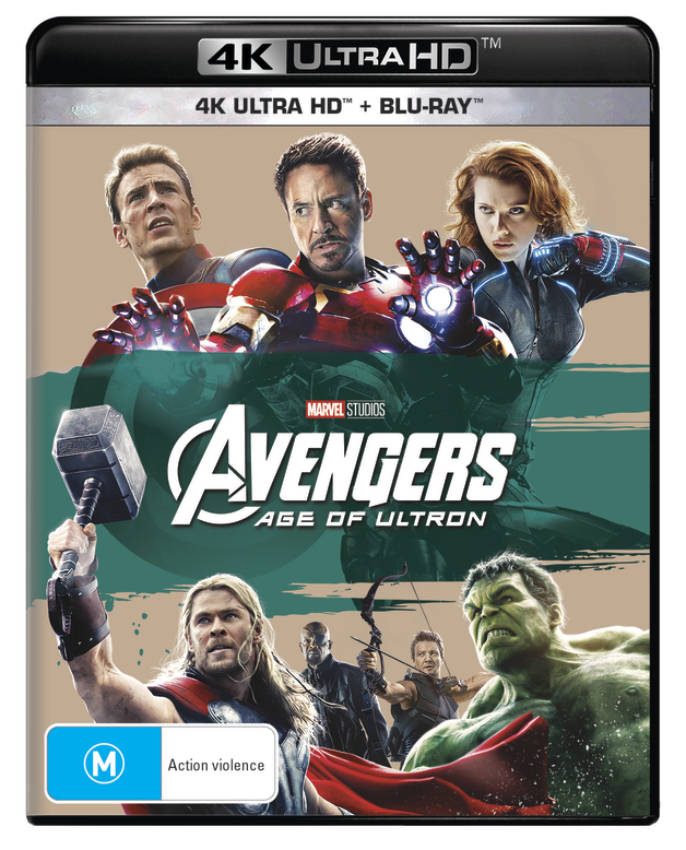 Avengers: Age of Ultron on UHD Blu-ray