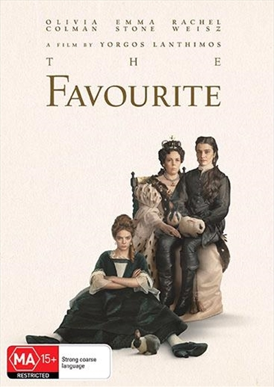 The Favourite on DVD image
