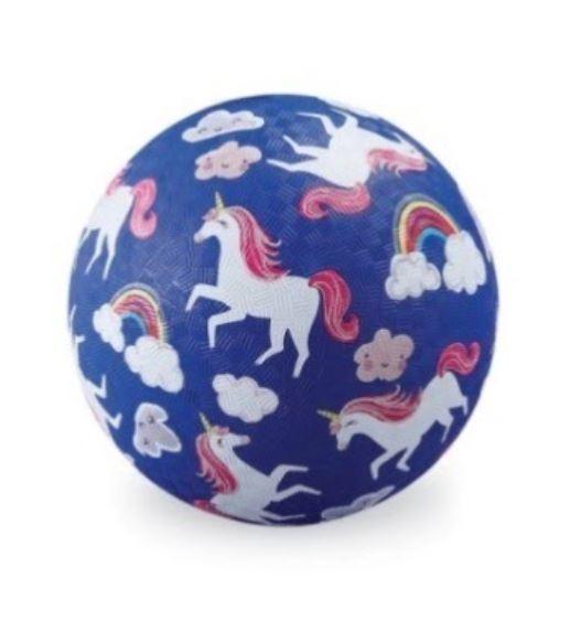 "Crocodile Creek: 5"" Playground Ball - Unicorns"