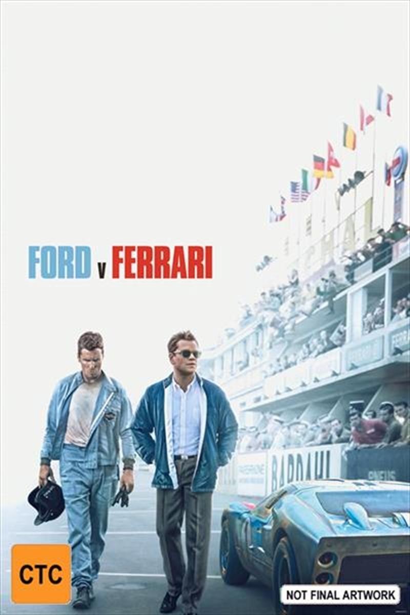 Ford v Ferrari on DVD image