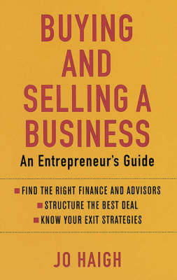 Buying and Selling a Business: An Entrepreneur's Guide by Jo Haigh image