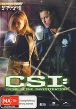 C.S.I..: Crime Scene Investigation Season 4 Episodes 4.1 - 4.12 (3 Disc Set) on DVD