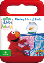 Elmo's World - Dancing, Music And Books (Handle Case) on DVD
