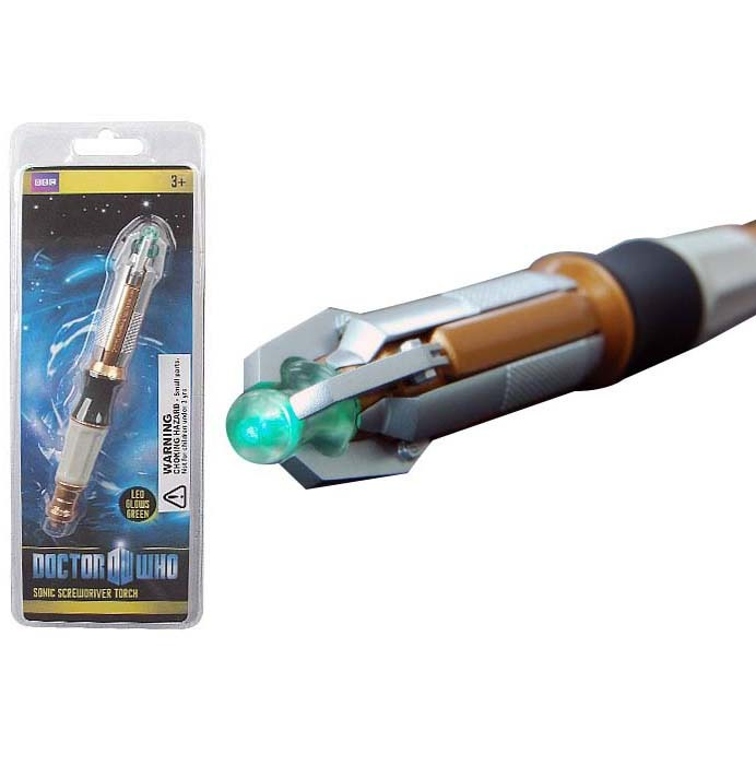 Doctor Who - 11th Doctor's Sonic Screwdriver LED Torch image