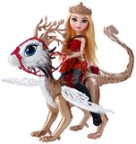 Ever After High: Dragon Games - Apple White Dragonrider Set