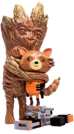 Guardians of the Galaxy: Rocket & Groot - Treehugger Vinyl Figure