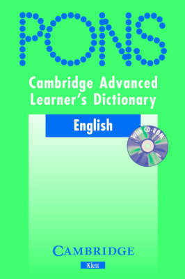 Cambridge Advanced Learner's Dictionary Klett Version with CD ROM image