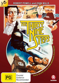 The 39 Steps (1978) on DVD image