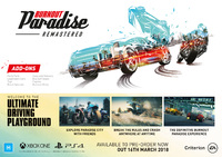 Burnout Paradise Remastered for PS4 image