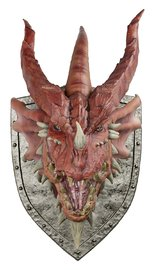 Dungeons & Dragons: Red Dragon - Trophy Plaque Replica