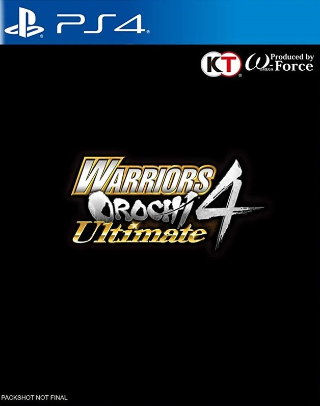 Warriors Orochi 4 Ultimate for PS4