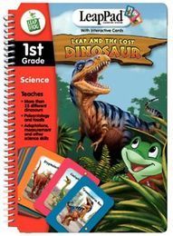 LeapPad Book: Leap and the Lost Dinosaur with Interactive Cards