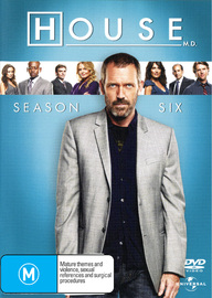 House, M.D. - Season 6 (6 Disc Set) on DVD