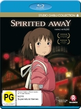Spirited Away on Blu-ray
